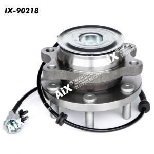 40202-4X00A-40202-EA000 Front Wheel Bearing and Hub Assembly for NISSAN,SUZUKI