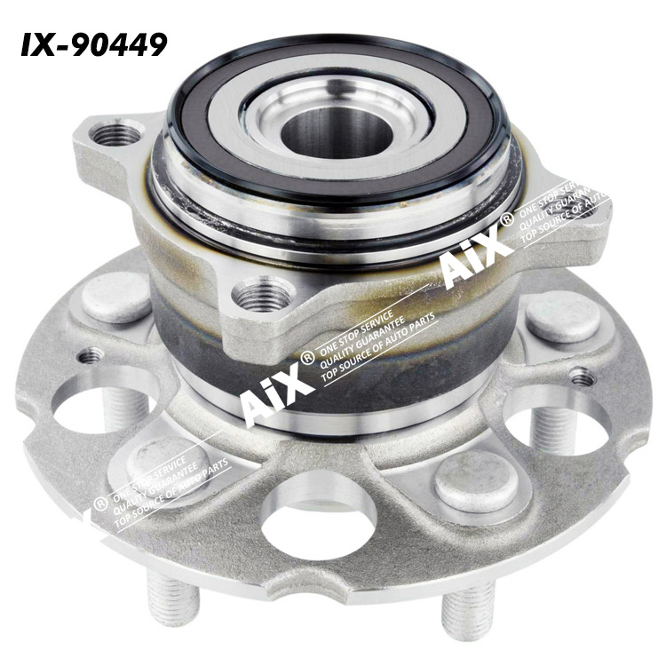 512501-HUB387T-3 Rear wheel hub bearing for ACURA RDX,HONDA CR-V