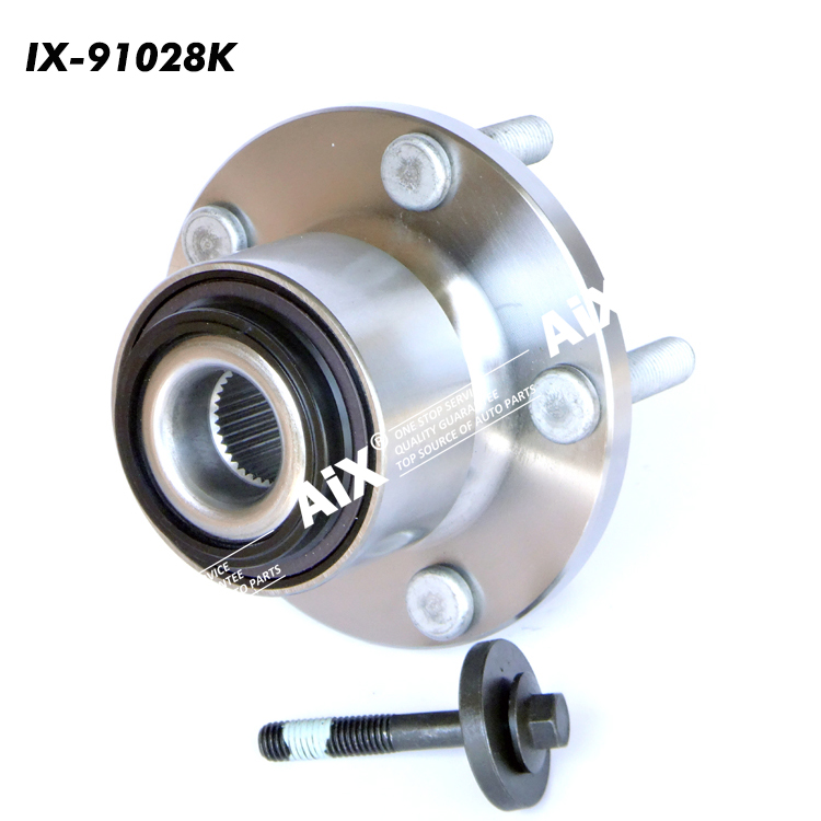 VKBA6543,713660440,R165.37,31340604,30736653 Front Wheel Hub Assembly Kits for VOLVO C30,C70,S40,V50